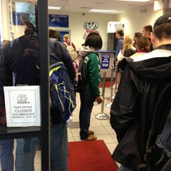 Photo taken at US Post Office by Eleanor B. on 10/9/2012