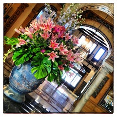 Photo taken at Hotel Alfonso XIII by Juan Carlos O. on 6/1/2013