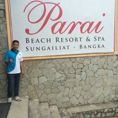 Photo taken at Parai Beach Resort & Spa by Gesron P. on 11/7/2015