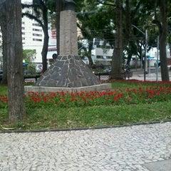 Photo taken at Praça Miguel Couto (Pracinha do Batel) by Álef Augusto F. on 11/30/2012