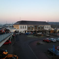 Photo taken at Neunkirchen (Saar) Hauptbahnhof by Jonas on 2/18/2013