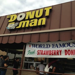 Photo taken at The Donut Man by Edgar G. on 2/2/2013