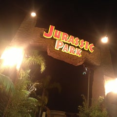 Photo taken at Jurassic Park The Ride by Chris L. on 2/17/2013