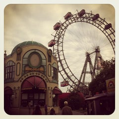Photo taken at Wiener Prater by Inna A. on 10/13/2012
