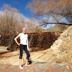 Photo taken at Sabino Canyon Recreation Area by Colleen N. on 1/21/2013