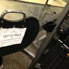 Photo taken at LA Fitness by Mike B. on 8/21/2013