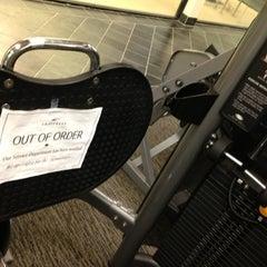 Photo taken at LA Fitness by Michael B. on 8/21/2013