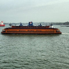 Photo taken at Staten Island Ferry - St. George Terminal by Tim S. on 5/10/2013