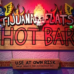 Photo taken at Tijuana Flats by Andrew G. on 1/21/2013
