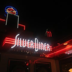 Photo taken at Silver Diner by Neville E. on 5/3/2013