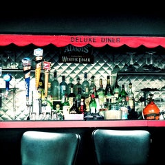 Photo taken at Deluxe Diner by Tiff 'TheFemGeek' T. on 4/7/2013