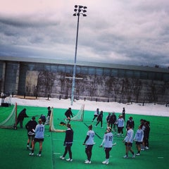 Photo taken at Memorial Field by UNH Students on 3/5/2013