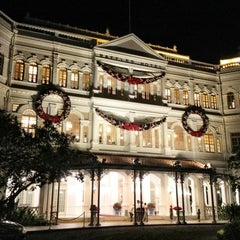 Photo taken at Raffles Hotel by Denis P. on 12/27/2012