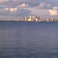 Photo taken at Ballast Point Park by Cristina F. on 10/10/2011