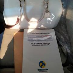 Photo taken at Menara Bank Mega by Ira Febrina A. on 9/3/2014