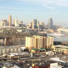 Photo taken at Radisson Hotel Cincinnati Riverfront by Sinclair on 3/3/2015