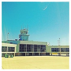Photo taken at Austin Straubel International Airport (GRB) by Amanda G. on 7/11/2013