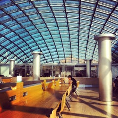 Photo taken at Joe and Rika Mansueto Library by Chethan S. on 10/2/2012