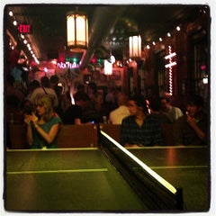 Photo taken at Sister Louisa's Church of the Living Room and Ping Pong Emporium by DB on 5/18/2013
