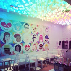 Photo taken at Frog Frozen Yogurt Bar by V on 2/1/2013