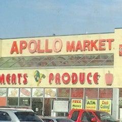 Photo taken at Apollo Supermarket by Darlena B. on 10/22/2012