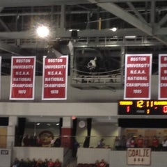 Photo taken at Agganis Arena by Eric O. on 12/9/2012