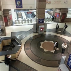 Photo taken at RTA Tower City - Public Square Rapid Station by Greg D. on 5/14/2013