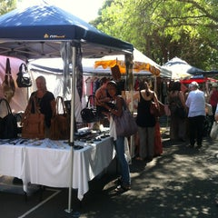 Photo taken at Glebe Markets by May L. on 3/16/2013