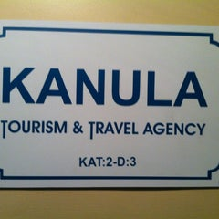 Photo taken at Kanula Tourism & Travel Agency by Ecece H. on 10/13/2012