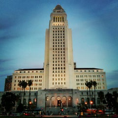 Photo taken at Los Angeles City Hall by siva on 2/16/2013