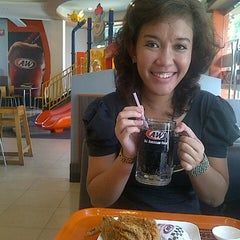 Photo taken at A&W by Novi S. on 8/23/2013