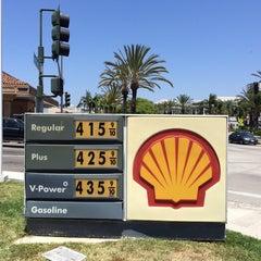 Photo taken at Shell by Karim on 6/12/2014