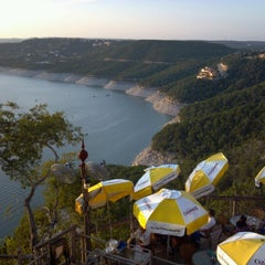 Photo taken at The Oasis on Lake Travis by Dennis W. on 10/5/2012