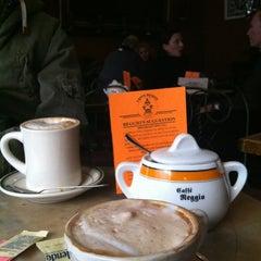 Photo taken at Caffe Reggio by Tali B. on 1/23/2013