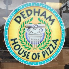 Photo taken at Dedham House of Pizza by Charlie P. on 12/22/2014