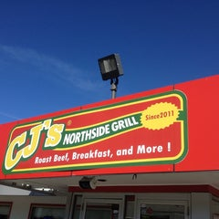 Photo taken at CJ's Northside Grill by Charlie P. on 12/16/2013
