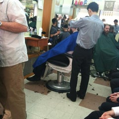 Photo taken at Barber Shop by Joel S. on 9/14/2012