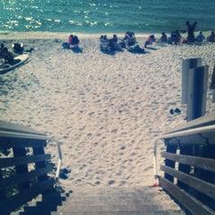 Photo taken at Blue Mountain Beach by Rachel M. on 11/23/2012