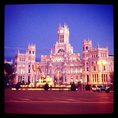 Photo taken at Palacio de Cibeles by David C. on 11/13/2012