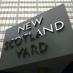 Photo taken at New Scotland Yard by Ray F. on 2/21/2013
