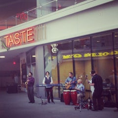 Photo taken at TASTE FIGat7th by trice the afrikanbuttafly on 4/4/2013
