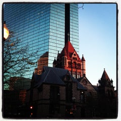 Photo taken at Copley Square by Steve G. on 4/30/2013