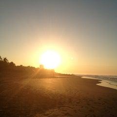 Photo taken at Playa Bonfil by Javier G. on 12/30/2012