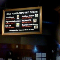 Photo taken at Ram Restaurant & Brewery by Phil B. on 7/6/2013