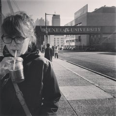 Photo taken at BoltBus Stop by Shana K. on 1/6/2013