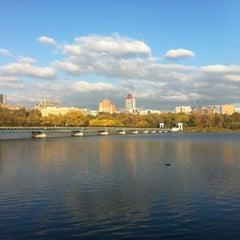 Photo taken at Парк Щербакова by Mr. R. on 10/18/2012