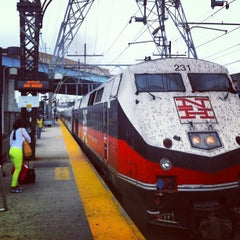 Photo taken at Bridgeport Train Station (BRP) - Metro North & Amtrak by Robert S. on 9/1/2013