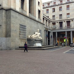 Photo taken at Fontana del Po by valenti m. on 4/20/2013