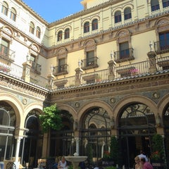Photo taken at Hotel Alfonso XIII by mlc.a m. on 6/3/2013
