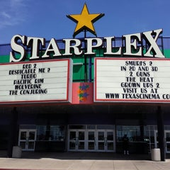 Photo taken at Texas Cinema - Starplex 12 by Chris on 8/2/2013